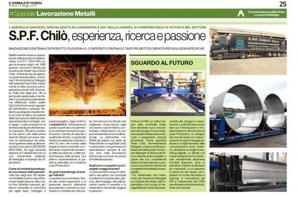Esperienza, ricerca e passione - Il Giornale di Vicenza