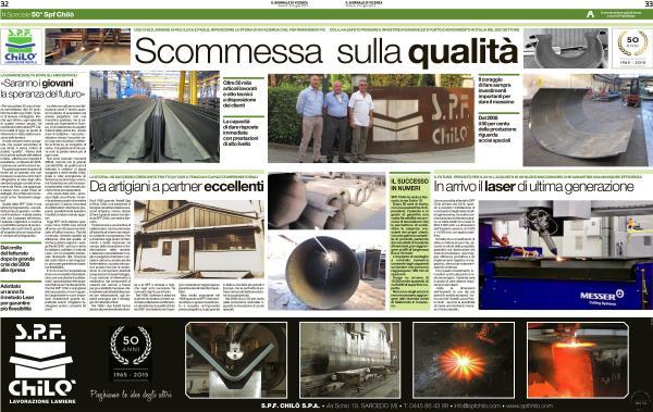 Scommessa sulla qualità - Il Giornale di Vicenza