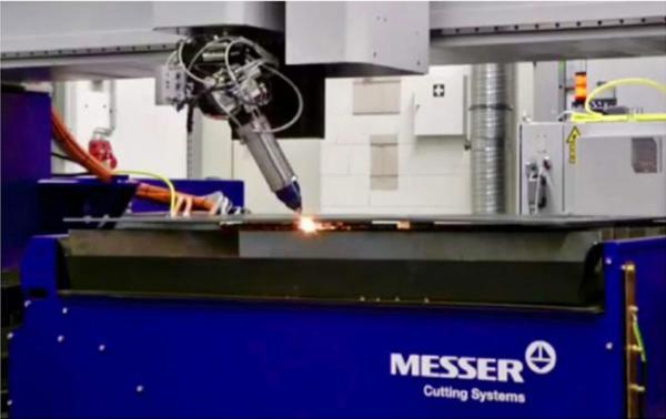 Nuovo impianto di taglio laser